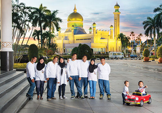 brunei-family